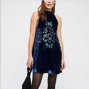 NWT Free People Velvet Dress